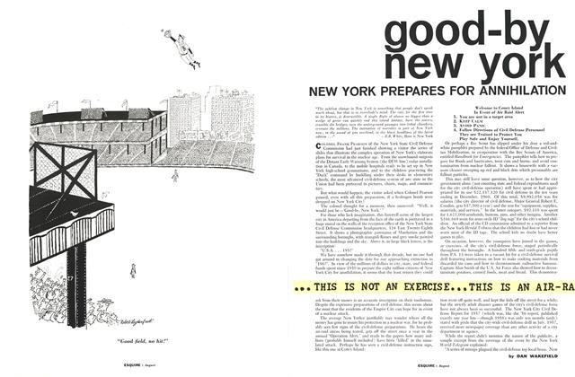 Good-by New York