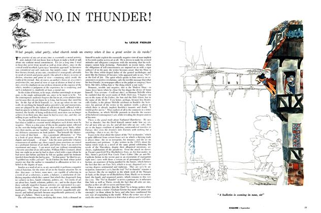 Article Preview: No, in Thunder!, SEPTEMBER, 1960 1960 | Esquire