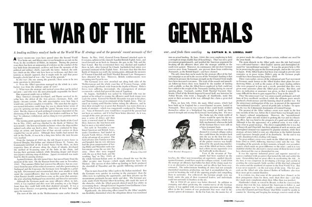 The War of the Generals