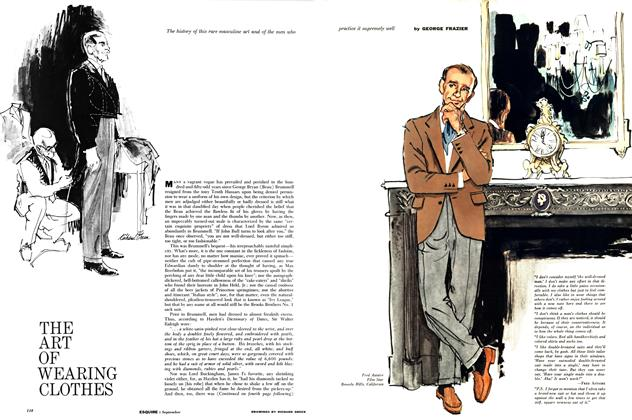 Article Preview: The Art of Wearing Clothes, SEPTEMBER, 1960 1960 | Esquire