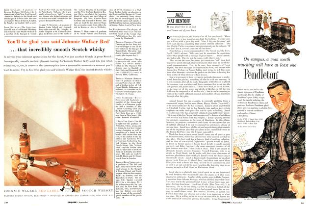 Article Preview: Jazz, SEPTEMBER, 1960 1960 | Esquire