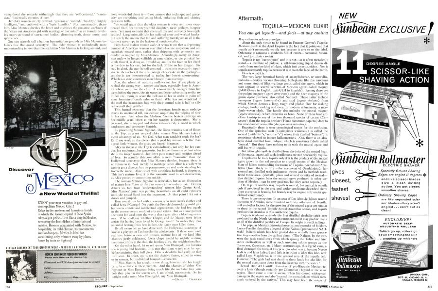 Tequila—mexican Elixir | Esquire | SEPTEMBER, 1960
