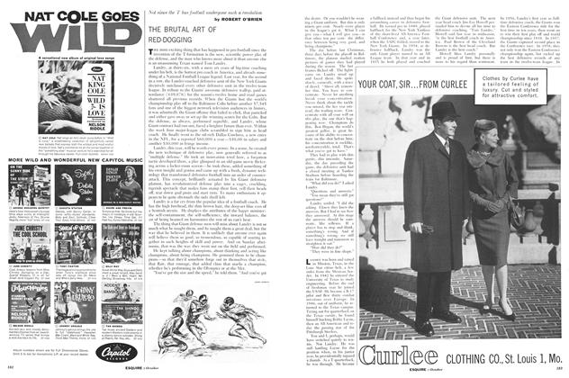 Article Preview: The Brutal Art of Red-Dogging, October 1960 | Esquire