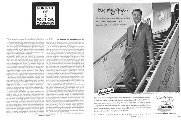 Article Preview: Portrait of a Political Campaign, October 1960 | Esquire