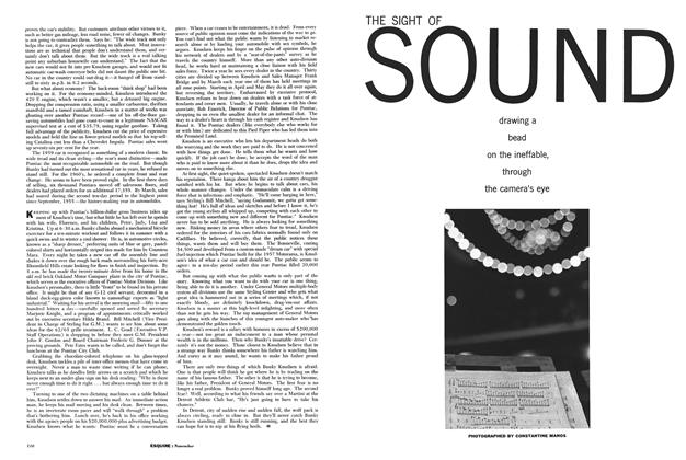Article Preview: The Sight of Sound, November 1960 | Esquire