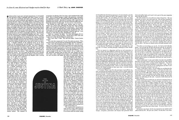 Article Preview: The Death of Justina, NOVEMBER, 1960 1960 | Esquire