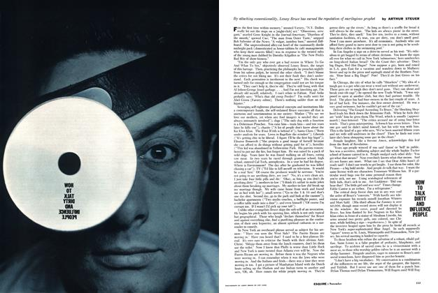 Article Preview: How to Talk Dirty and Influence People, NOVEMBER, 1960 1960 | Esquire