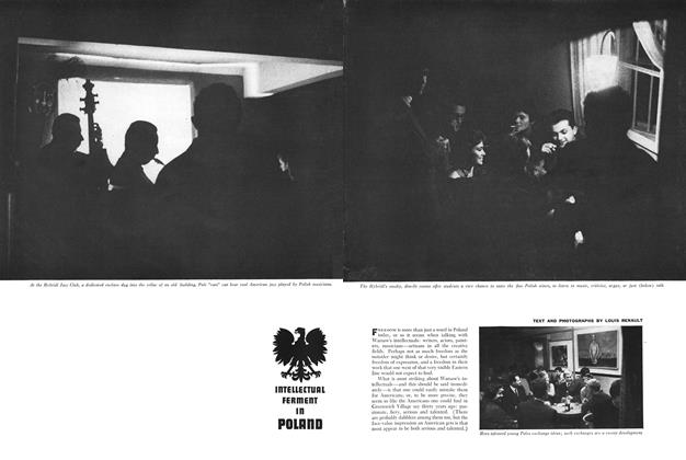 Article Preview: INTELLECTUAL FERMENT IN POLAND, NOVEMBER, 1960 1960 | Esquire