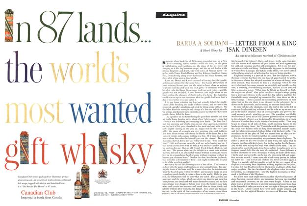 Article Preview: Barua a Soldani—Letter from a King, DECEMBER, 1960 1960 | Esquire