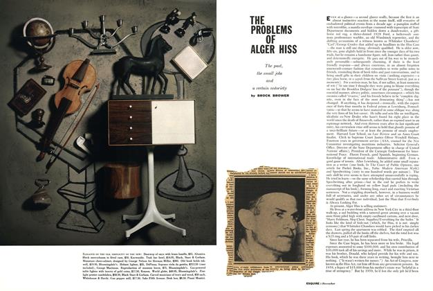 Article Preview: The Problems of Alger Hiss, DECEMBER, 1960 1960 | Esquire