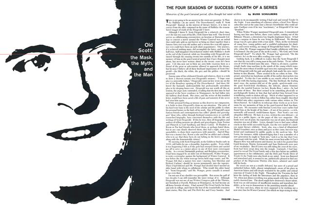 Article Preview: Old Scott: the Mask, the Myth, and the Man, JANUARY, 1961 1961 | Esquire