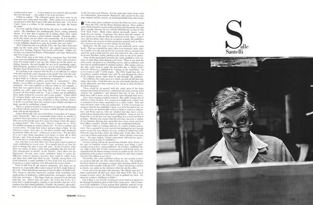 Article Preview: Salle Santelli, FEBRUARY, 1961 1961   Esquire