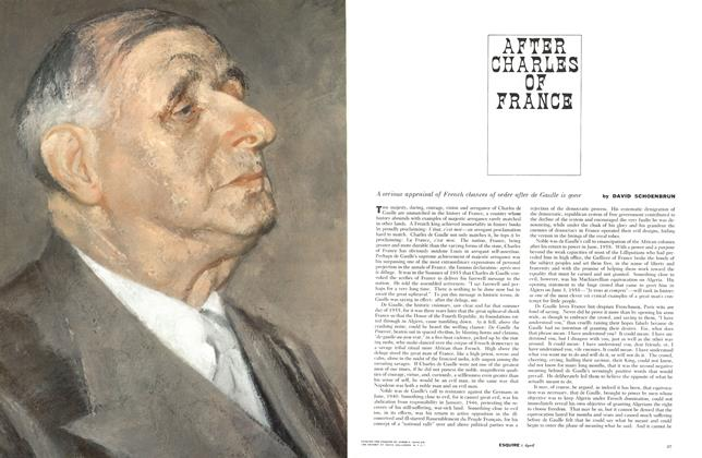 Article Preview: After Charles of France, APRIL, 1961 1961 | Esquire