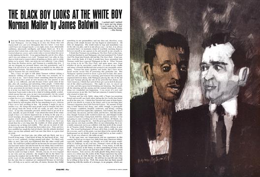 The Black Boy Looks at the White Boy Norman Mailer - May | Esquire