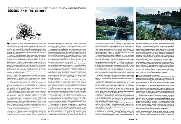 Article Preview: Legend and the Letort, May 1961 | Esquire