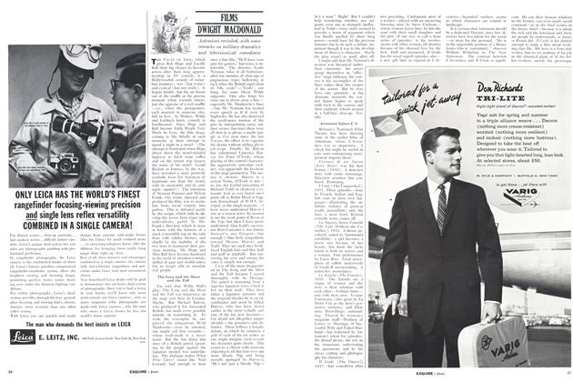 Article Preview: FILMS, JUNE, 1961 1961 | Esquire