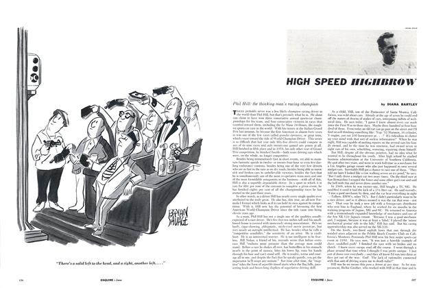 Article Preview: High Speed Highbrow, June 1961 | Esquire