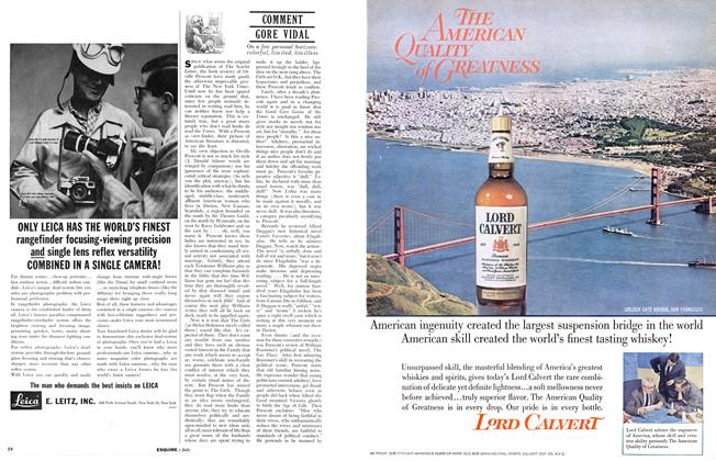 Article Preview: COMMENT, July 1961 | Esquire
