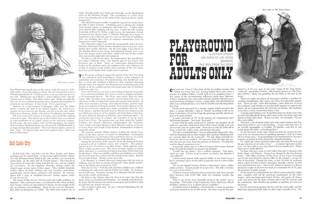 Article Preview: Playground for Adults Only, August 1961 | Esquire