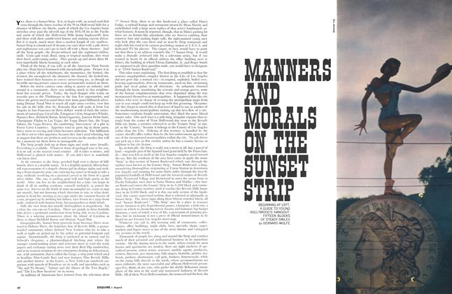 Article Preview: Manners and Morals on the Sunset Strip, August 1961 | Esquire