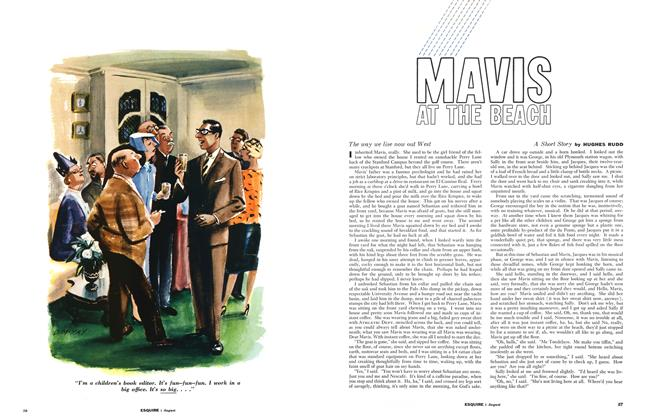 Article Preview: Mavis at the Beach, August 1961 | Esquire