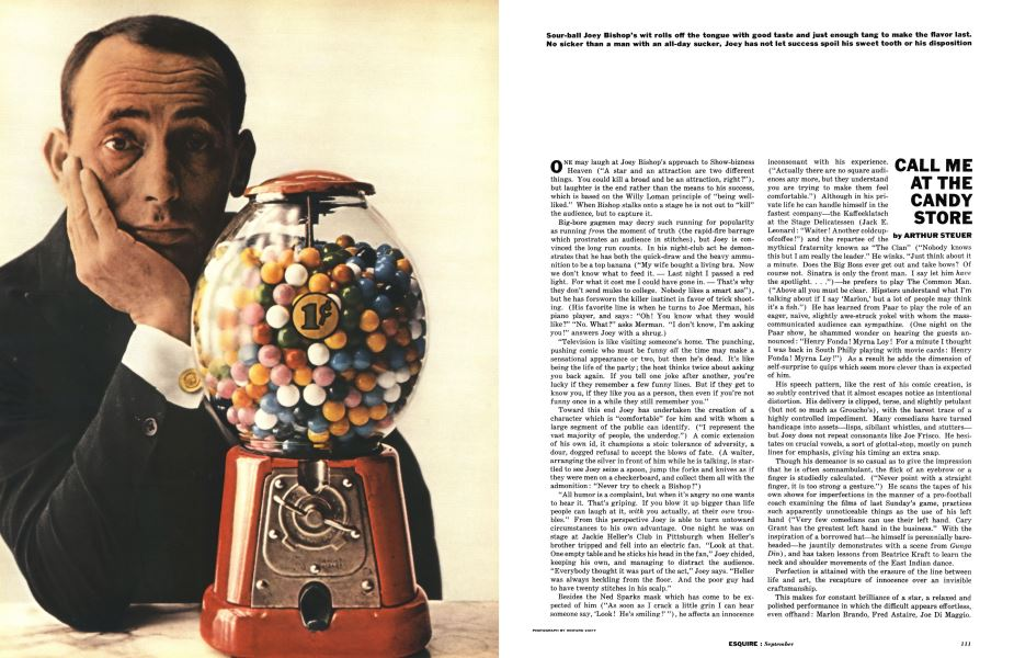 Call Me at the Candy Store | Esquire | SEPTEMBER, 1961