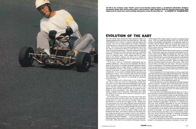 Evolution of the Kart