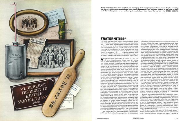 Article Preview: Fraternities, October 1961 | Esquire
