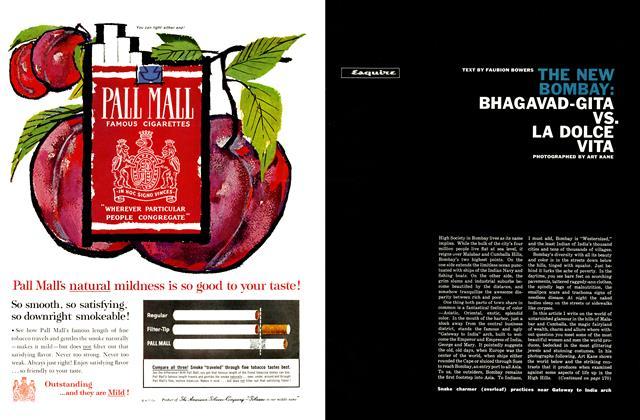 Article Preview: The New Bombay: Bhagavad-Gita Vs. La Dolce Vita, NOVEMBER, 1961 1961 | Esquire