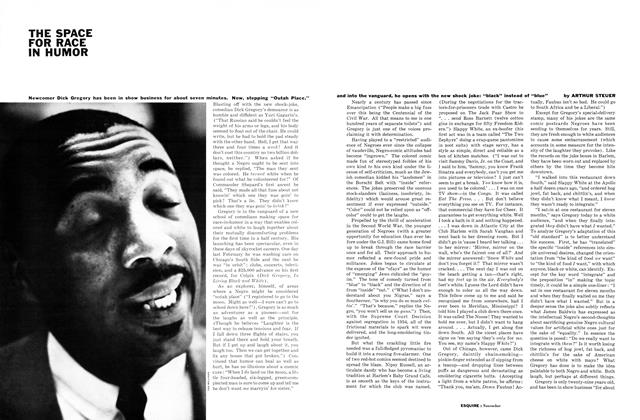 Article Preview: The Space for Race in Humor, NOVEMBER, 1961 1961 | Esquire