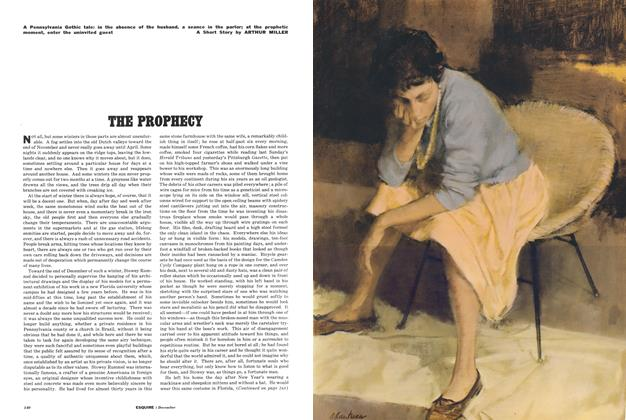 Article Preview: The Prophecy, December 1961 | Esquire