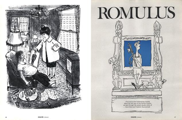 Article Preview: Romulus, January 1962 | Esquire