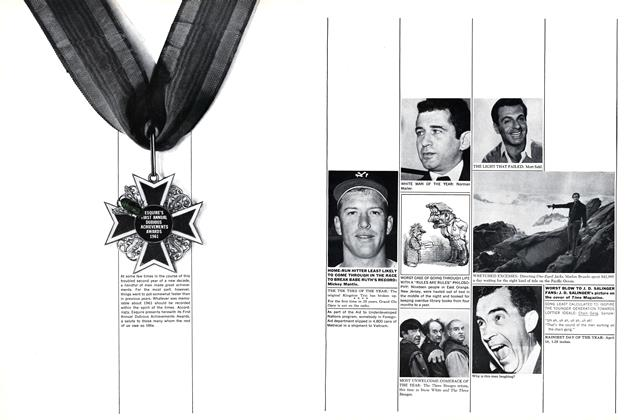 Article Preview: Esquire's First Annual Dubious Achievement Awards , JANUARY, 1962 1962   Esquire