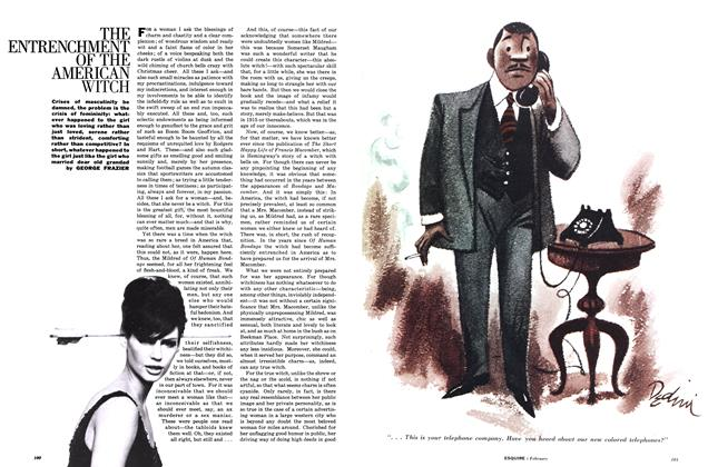 Article Preview: The Entrenchment of the American Witch, FEBRUARY, 1962 1962 | Esquire