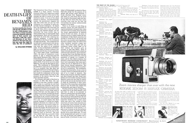 Article Preview: The Death-in-Life of Benjamin Reid, FEBRUARY, 1962 1962   Esquire