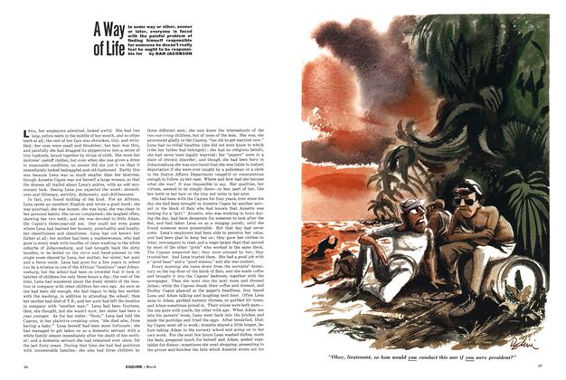 Article Preview: A Way of Life, March 1962 | Esquire