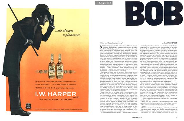Article Preview: Bobby, APRIL, 1962 1962 | Esquire
