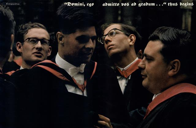 Article Preview: The Ultimate Graduation, June 1962 | Esquire