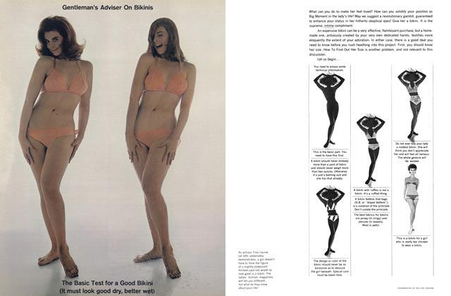 Article Preview: Gentleman's Adviser on Bikinis, JUNE, 1962 1962 | Esquire