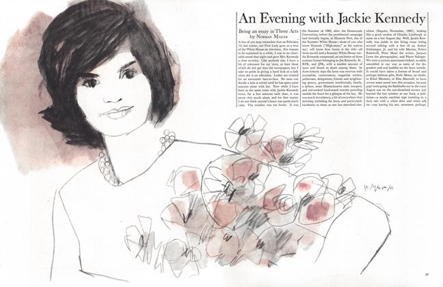Article Preview: An Evening with Jackie Kennedy, July 1962 | Esquire
