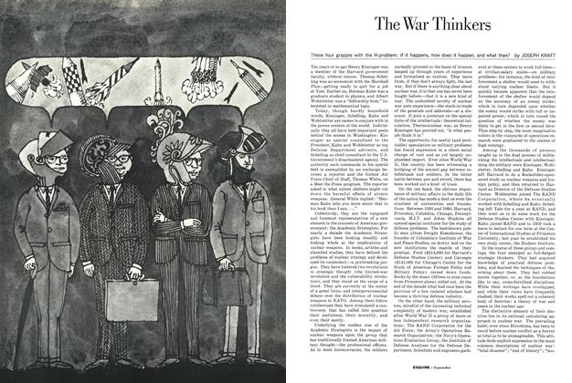 The War Thinkers