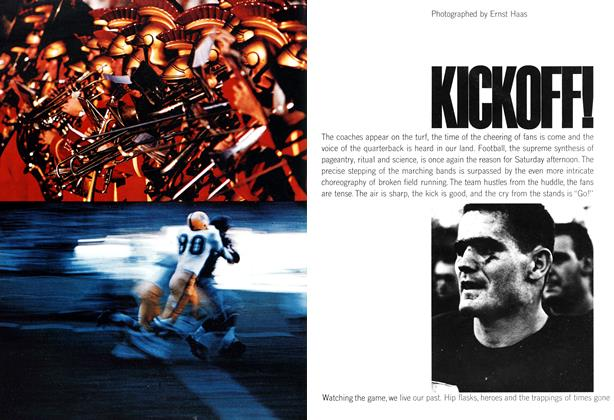 Article Preview: Kickoff!, OCTOBER, 1962 1962 | Esquire