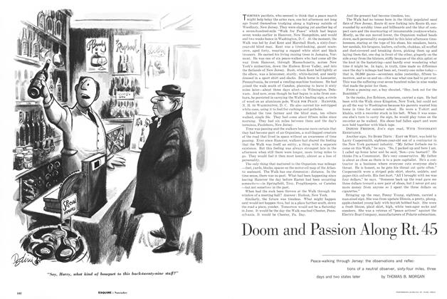Article Preview: Doom and Passion Along Rt. 45, NOVEMBER, 1962 1962 | Esquire