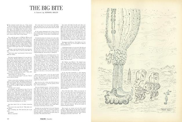Article Preview: The Big Bite, NOVEMBER, 1962 1962 | Esquire