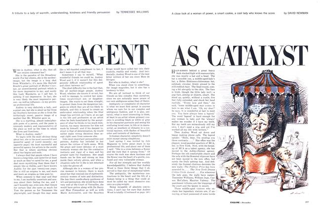 The Agent as Catalyst: Part I