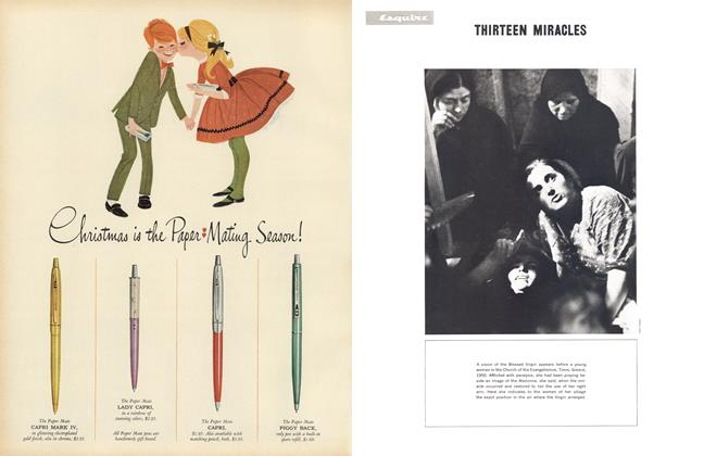 Article Preview: Thirteen Miracles, DECEMBER, 1962 1962   Esquire
