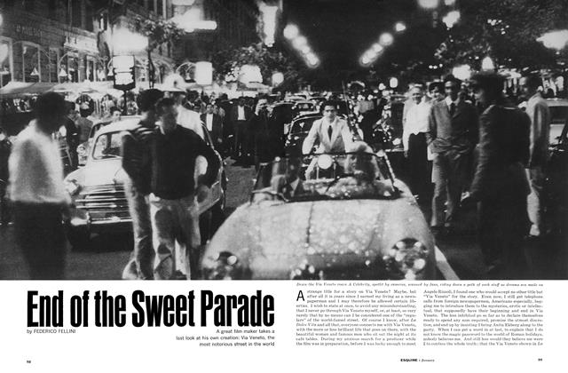 End of the Sweet Parade