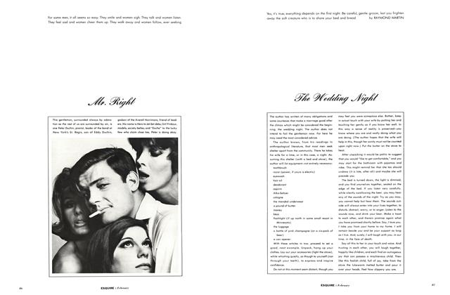 Article Preview: Mr. Right, FEBRUARY, 1963 1963 | Esquire