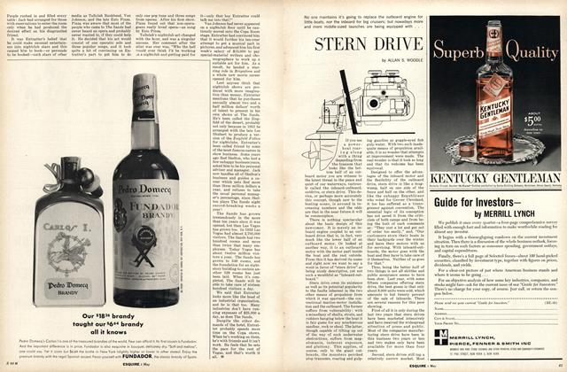 Article Preview: Stern Drive, MAY, 1963 1963 | Esquire