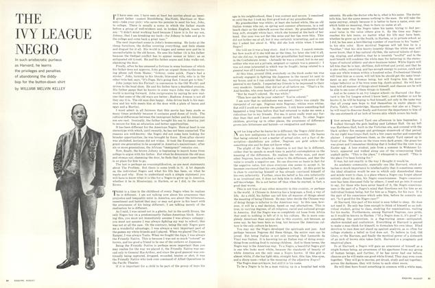 Article Preview: The Ivy League Negro, AUGUST, 1963 1963 | Esquire